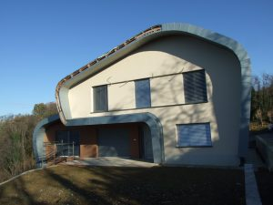 Prvačina - stanovanjska hiša - končni izgled