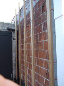 Lesena fasada Vič - Therm GoFix BT - pod konstrukcija brez toplotnih mostov